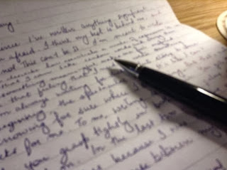 On the subject of writing...